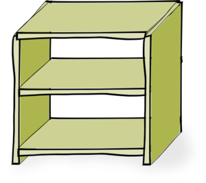 Shelf Clipart.