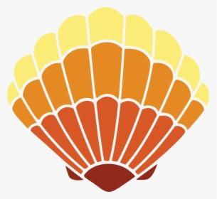 Free Clipart Of A Scallop Sea Shell.