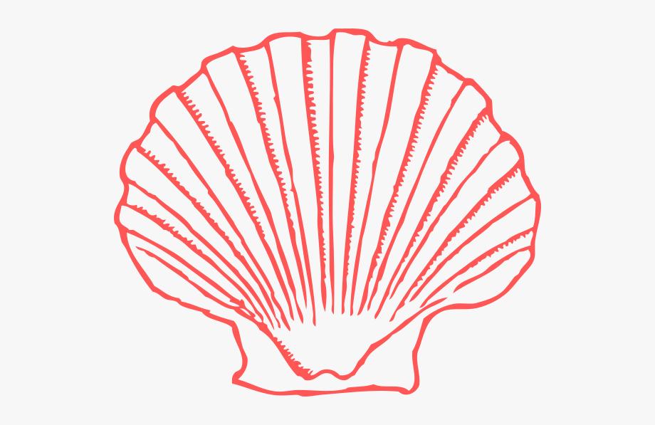 Salmon Shell Clipart Clip Art.