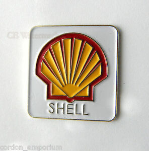 Details about SHELL OIL GAS COMPANY CAR LOGO EMBLEM PIN LAPEL BADGE 1 INCH.