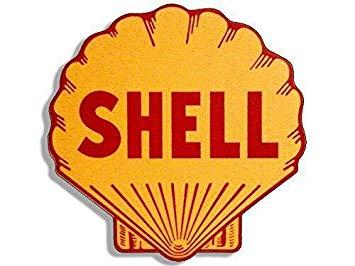 Amazon.com: MAGNET 4x4 inch Vintage Shell Gas Station Logo.