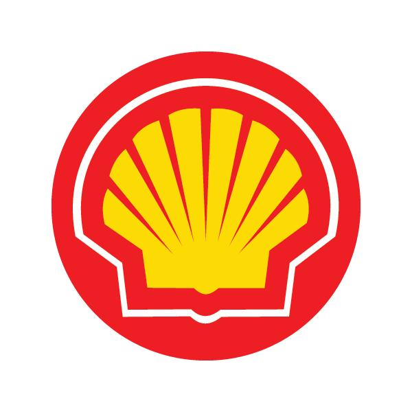 Shell Oil logo.