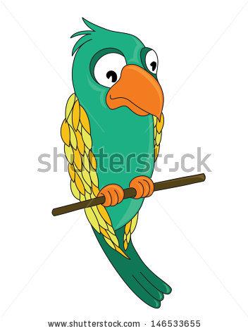 Budgerigar Pet Parakeet Shell Parakeet Budgie Stock Vector.