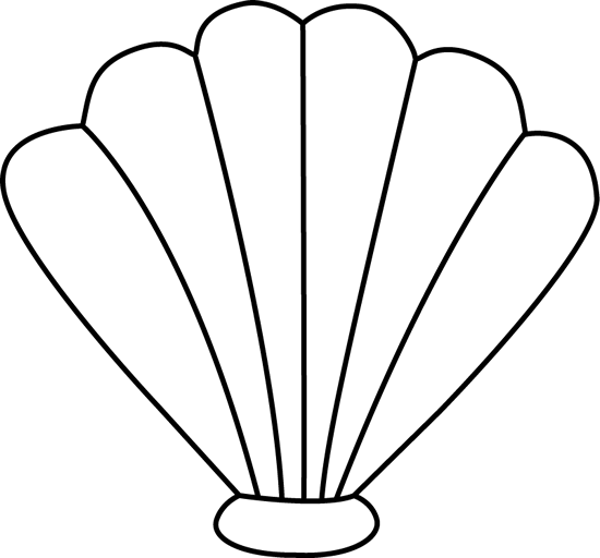 Sea Shell Clip Art.