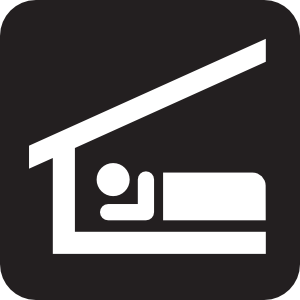 Homeless shelter clipart.