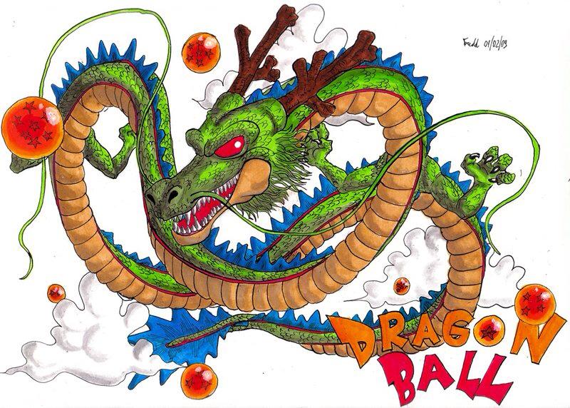 Shenron dragon ball.