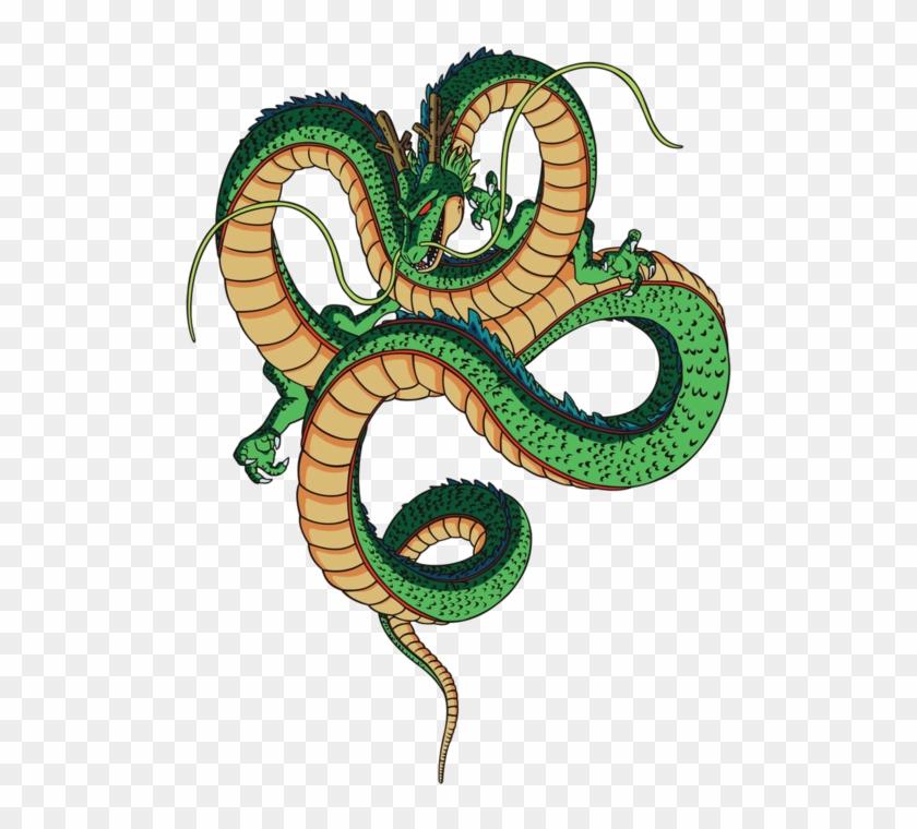 Shenron, The Magic Dragon Of Dbz, He And The Namekian.