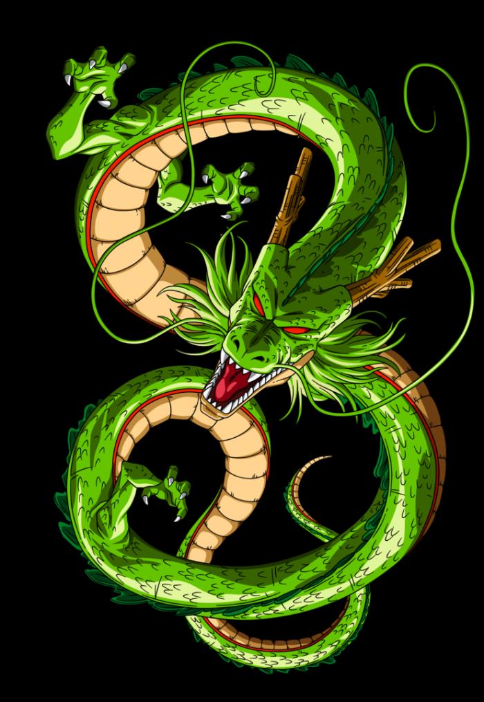 Dragon Shenron Png Vector, Clipart, PSD.