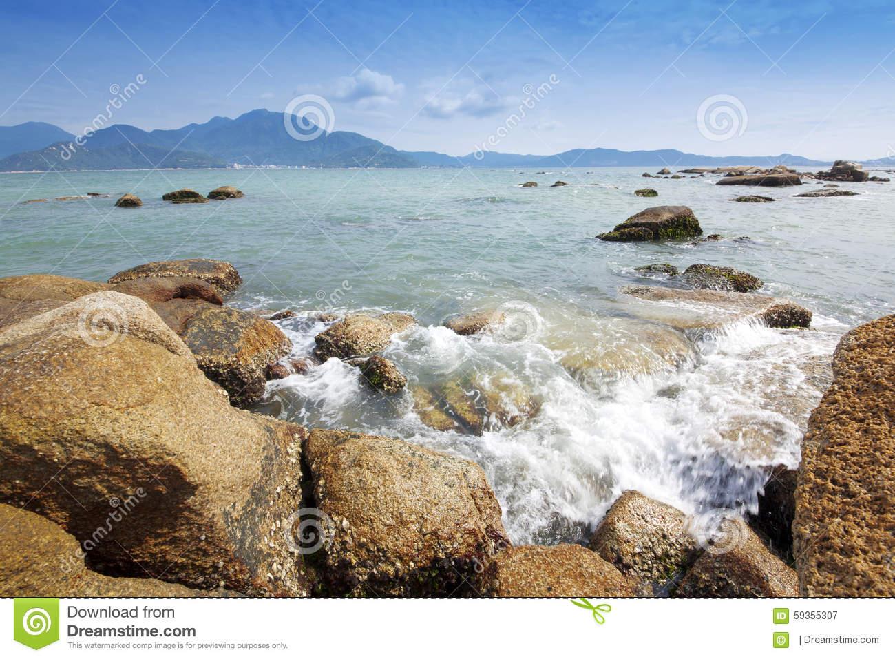 Dapeng, Longgang, Shenzhen, Guangdong, China Daya Bay Scenery.