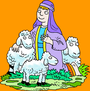 Shepherd Sheep Clipart.