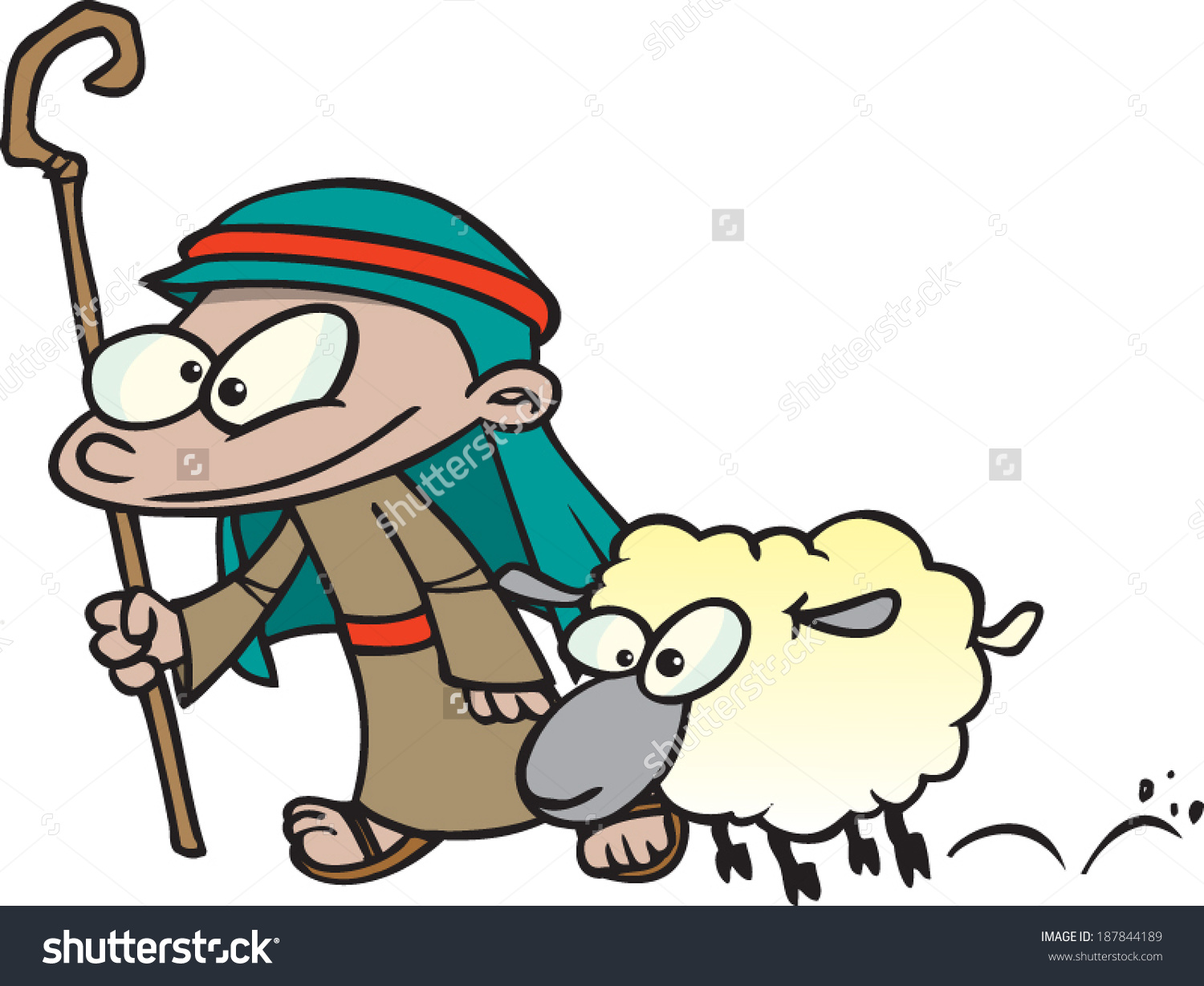 Showing post & media for Cartoon boy and sheep.