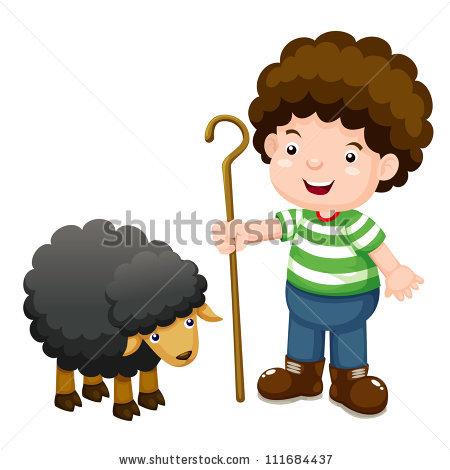 Shepherd Sheep Stock Vectors, Images & Vector Art.