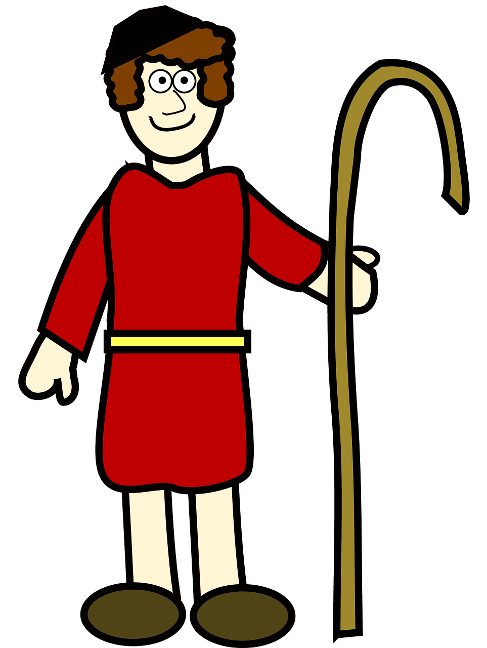 Shepherd boy clipart. Free download..