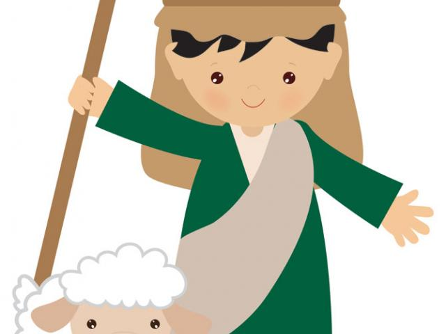 Shepherd Boy Clipart nativity 13.