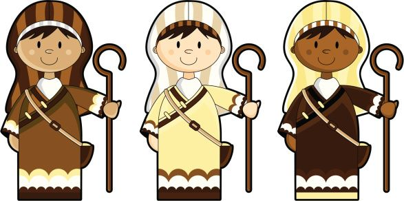 clipart+shepherds.
