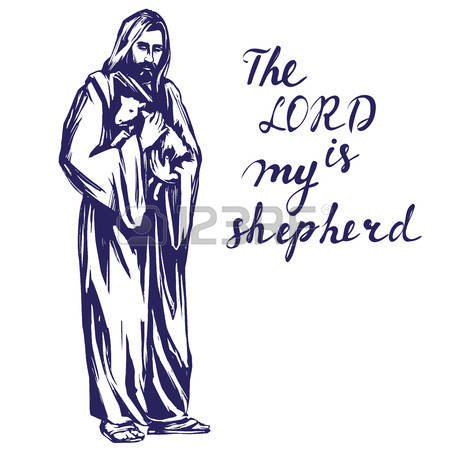 The Lord Is My Shepherd Stock Photos & Pictures. Royalty Free The.