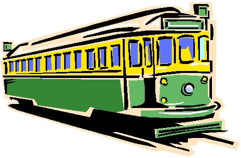Trolley Clipart.