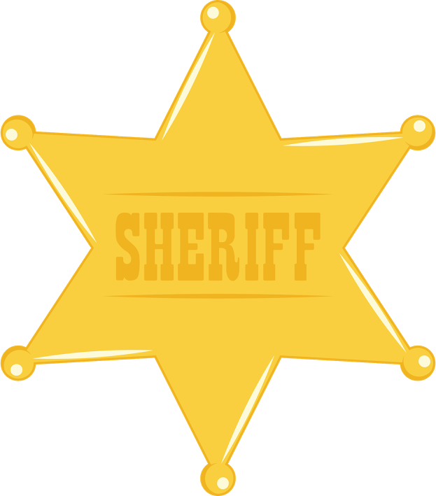 Deputy badge clipart clipart images gallery for free.