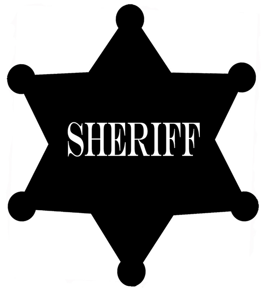 Sheriff Badge Clipart.