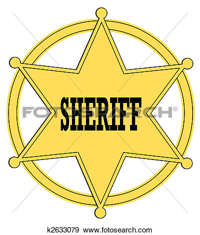 Sheriff badge Clipart and Stock Illustrations. 451 sheriff badge.