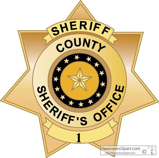 Badges county sheriff badge 3.