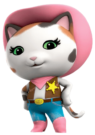 Sheriff Callie transparent PNG.