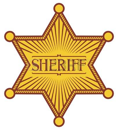 4,309 Sheriff Badge Cliparts, Stock Vector And Royalty Free.
