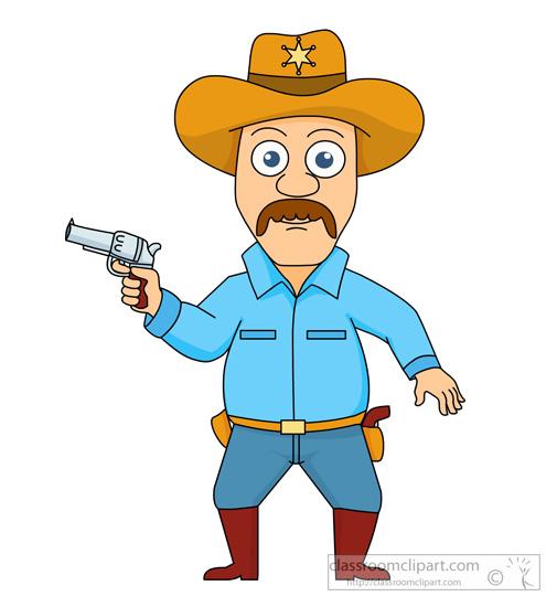 Sheriff clipart.