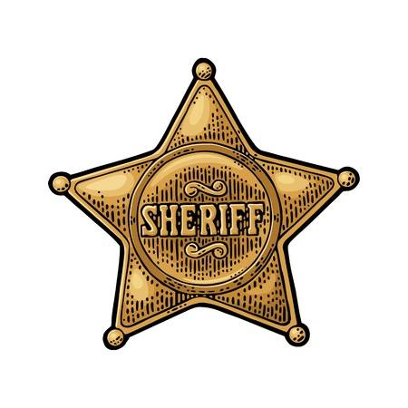 47 Effortless How To Draw A Sheriff Badge.