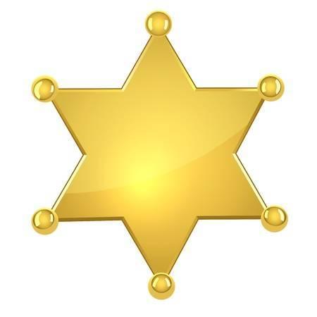 Sheriff star clipart » Clipart Portal.