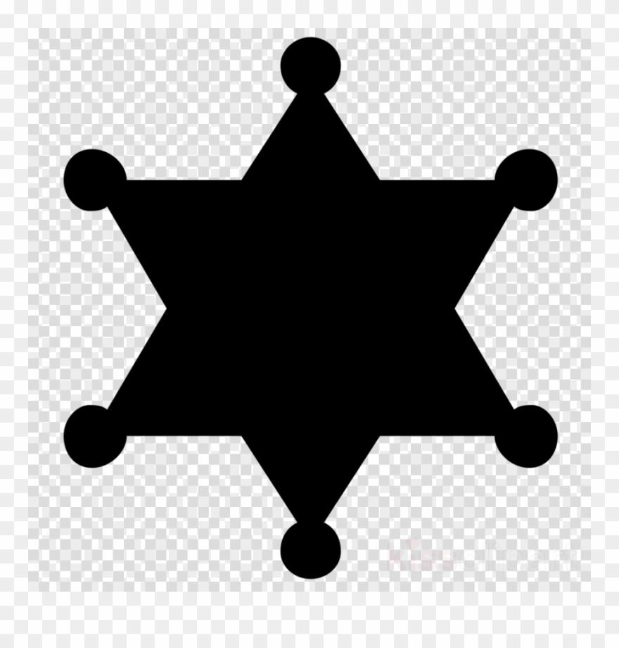 Sheriff Star Vector Clipart Sheriff Badge.