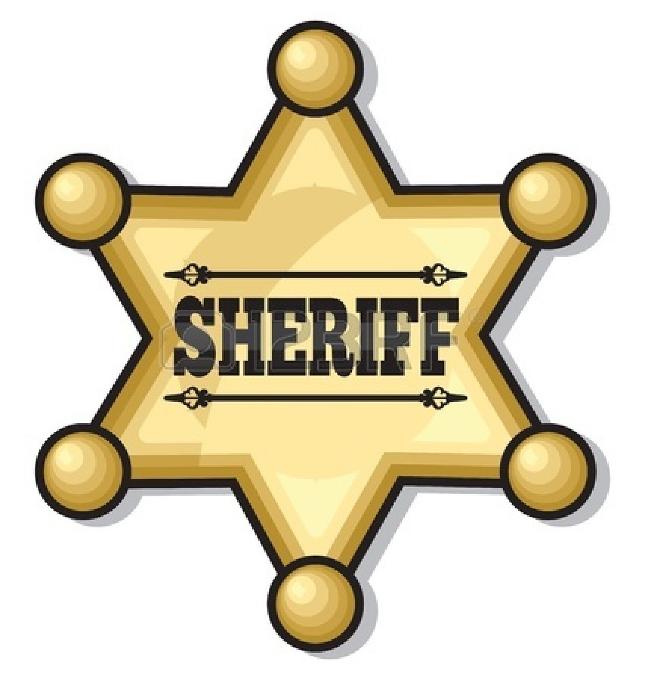 Sheriff badge clipart free 8 » Clipart Portal.