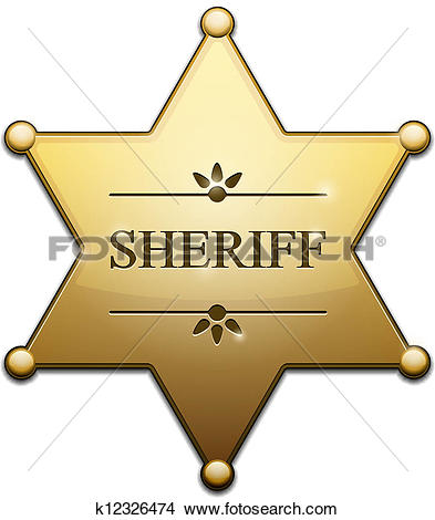 Sheriff Clip Art EPS Images. 5,359 sheriff clipart vector.