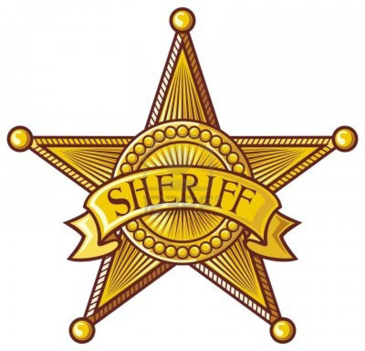 Sheriff clip art.