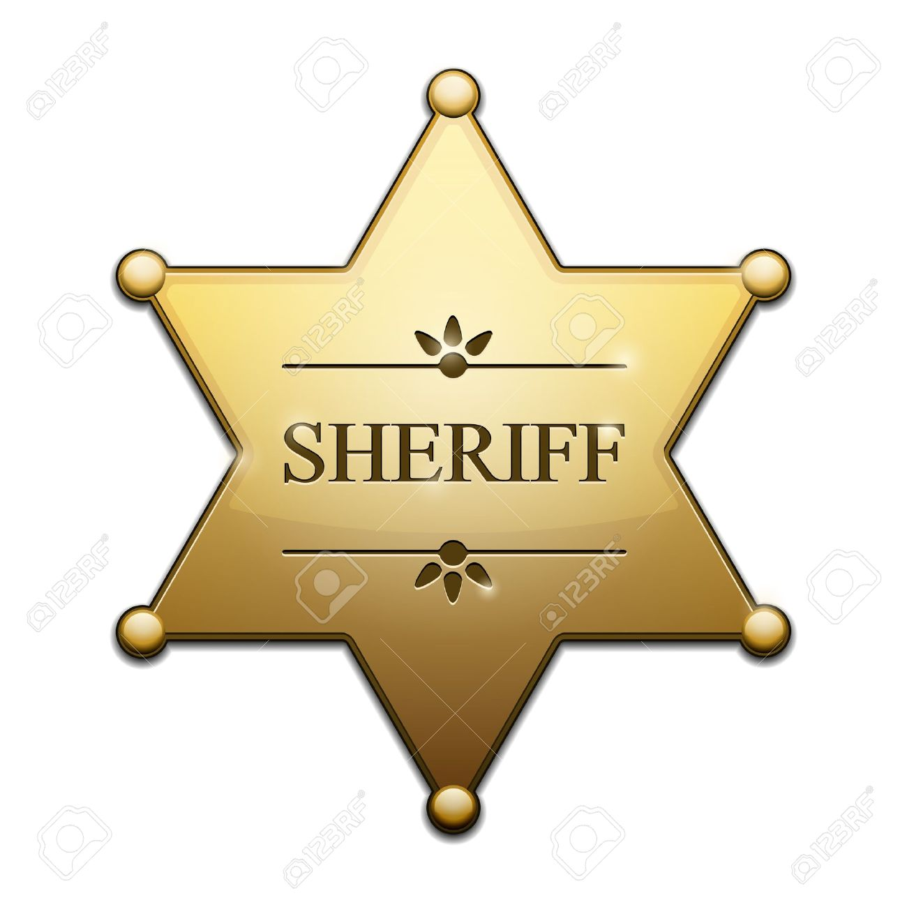 4,584 Sheriff Badge Cliparts, Stock Vector And Royalty Free.