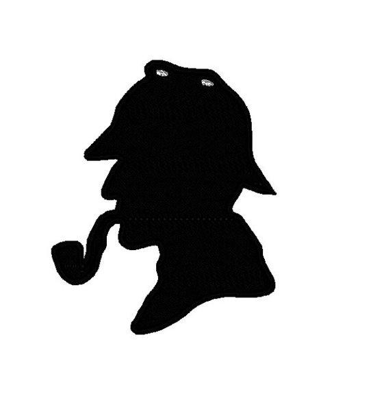 Sherlock holmes head silhouette clipart clipartfest 3.