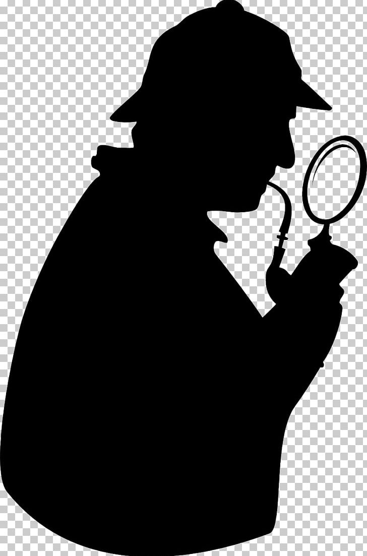 Sherlock Holmes Detective Magnifying Glass PNG, Clipart.