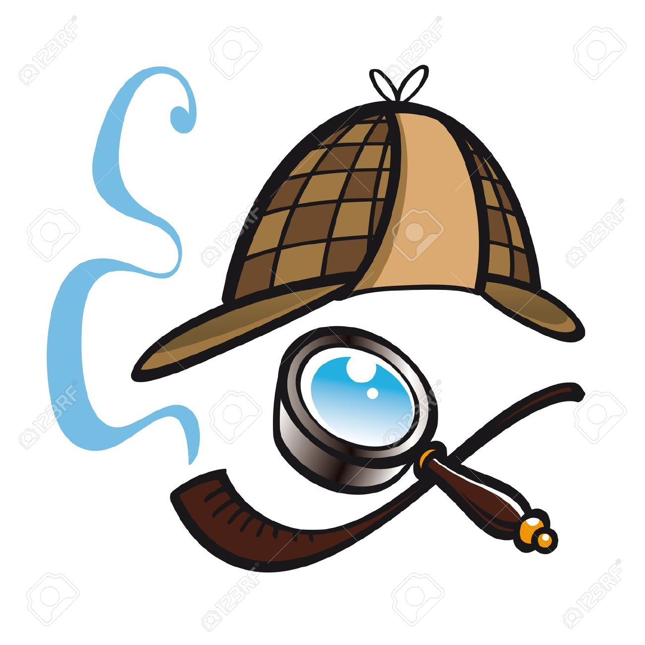 sherlock holmes cartoon images sherlock holmes clipart clipground 9294