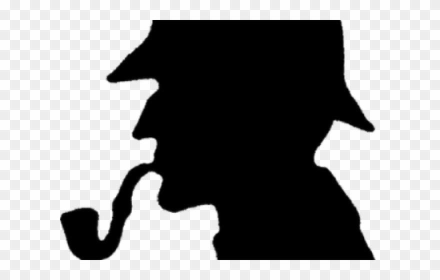 Sherlock Holmes Clipart Investigator.