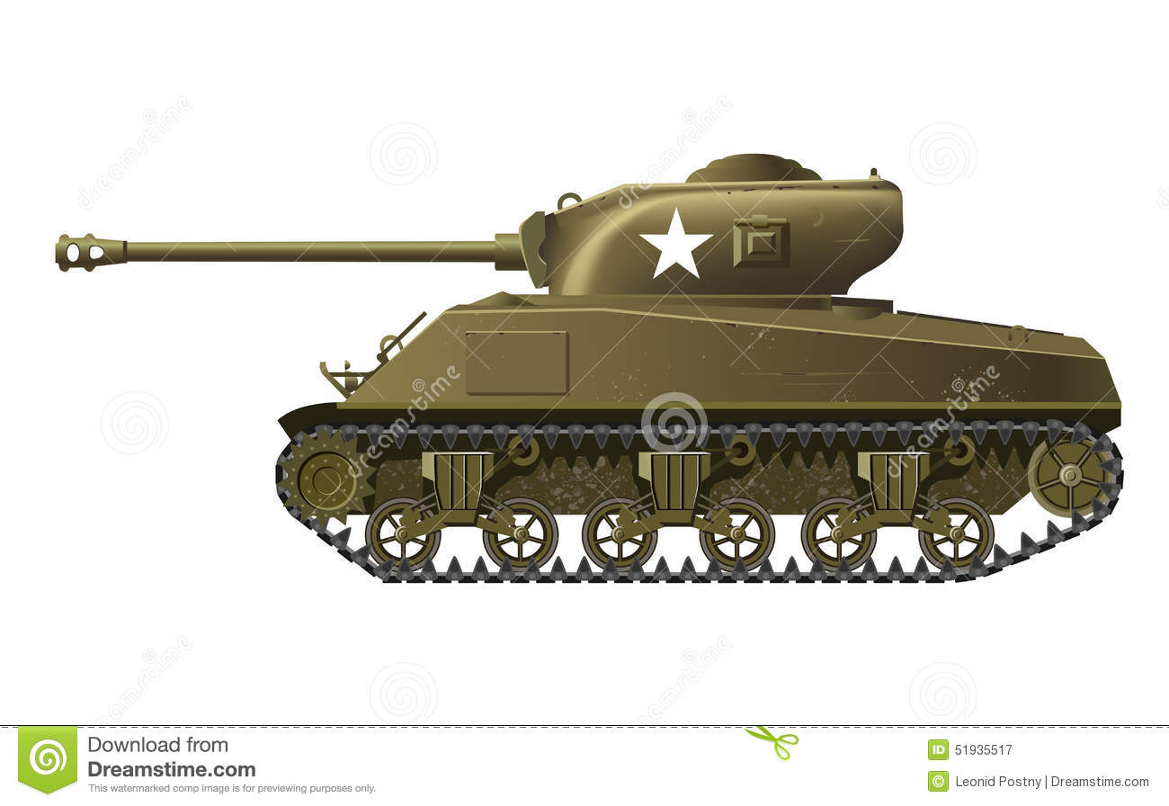 Sherman Stock Illustrations.