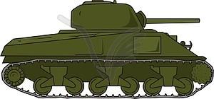 Sherman M4A3.