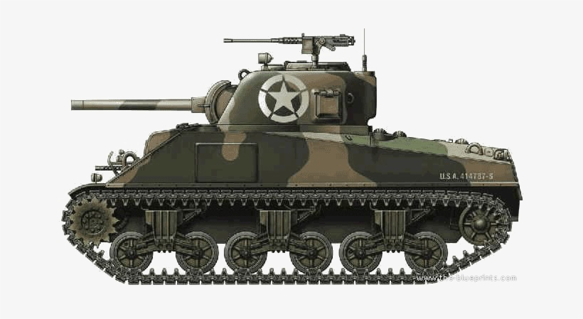 Military Tank Png Image.
