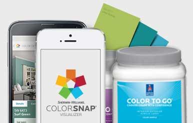 Paint Color Matching App: ColorSnap® Paint Color App.
