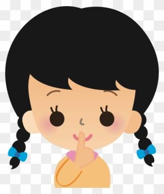 Free PNG Shhh Clip Art Download.