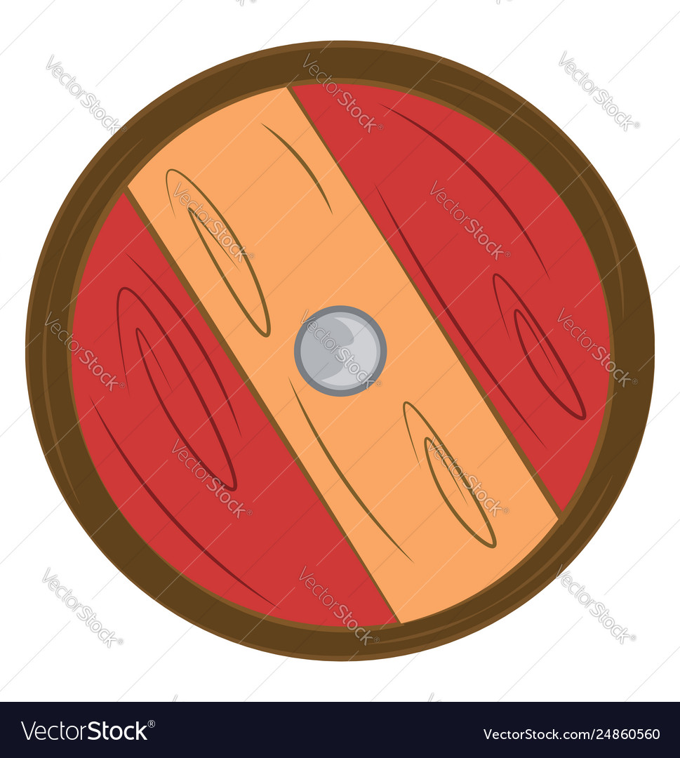 Clipart a shield and sword color drawing or.
