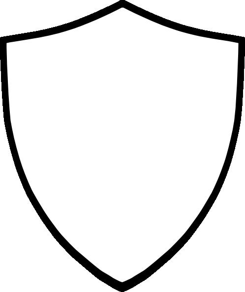 Blank Shield Clipart.