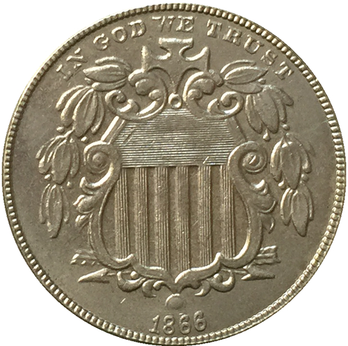 Online Buy Wholesale 1866 shield nickel from China 1866 shield.