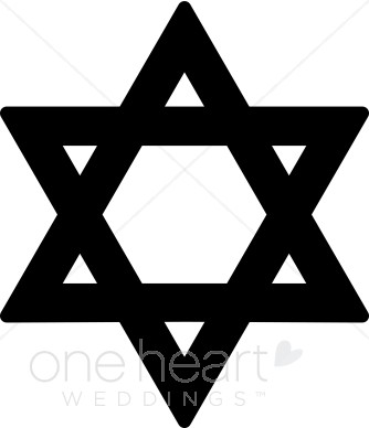 Star of david clipart.