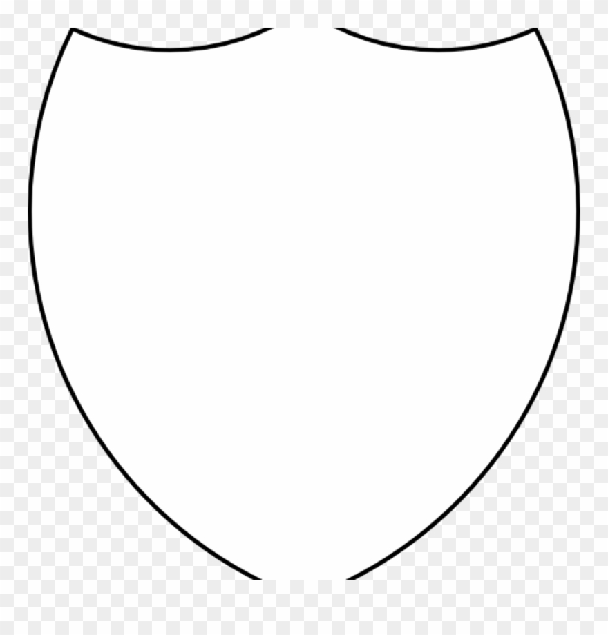 Free Shield Clipart Shield Template Shield Outline.