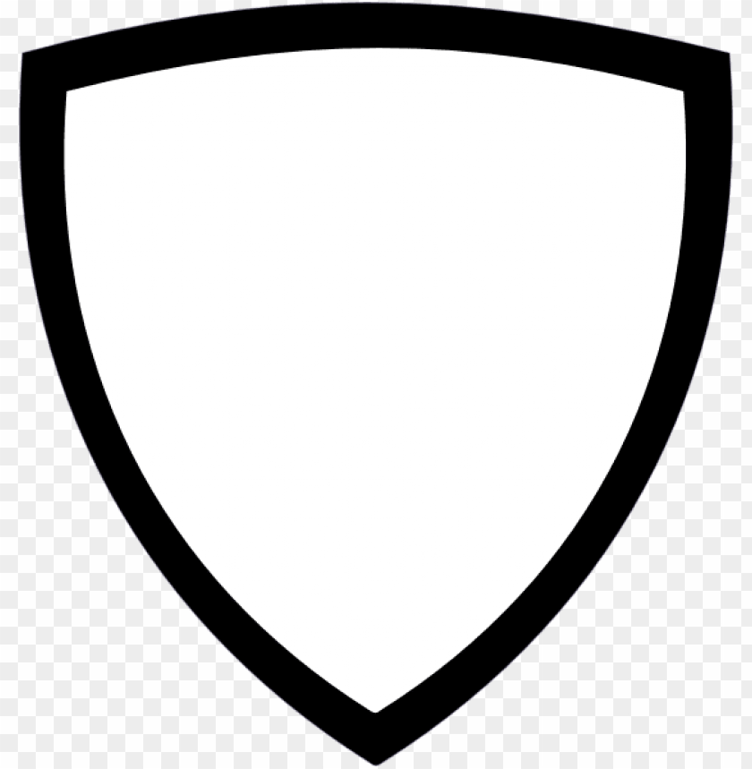 Download Free png shield outline png PNG image with.